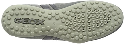 Geox Uomo Snake C, Sneakers Basses Homme Gris (Ice/Greyc4416)