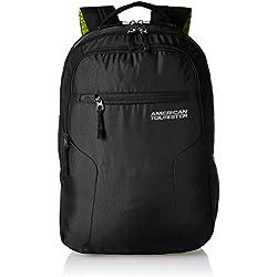 American Tourister Polyester 32 Ltrs Black Laptop Backpack (AMT BOP2017 LAPTOP BKPK2-BLACK)