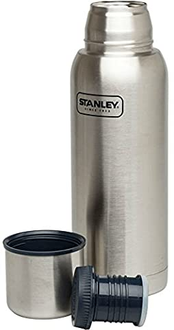 Stanley Adventure Bouteille isotherme sous vide Stainless Steel Silver 1 litre