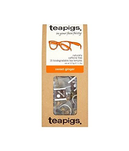 (10Pack)–Teapigs Sweet Ingwer Tee temples| 15Beutel |10Pack–Super Saver–Sparen Sie Geld 1