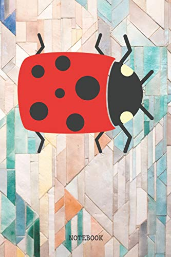 oon Ladybug / Ladybird / Lady Beetle Planner / Organizer / Lined Notebook (6