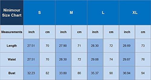 Ninimour Damen Sommer Blumendruck Overall Jumpsuit Rückenfrei Elegant Strand kurz Hose Y-Blau