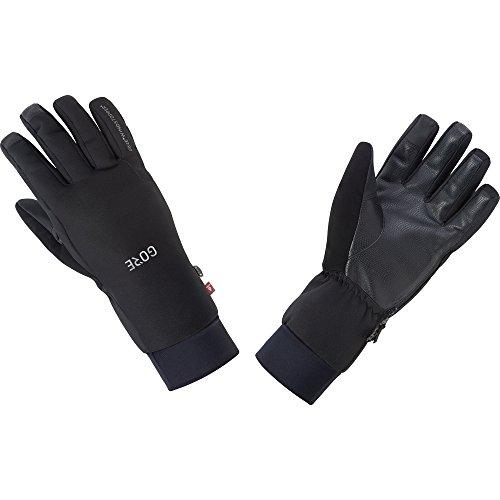GORE Wear Unisex Winddichte Handschuhe, M GORE WINDSTOPPER Insulated Gloves, Größe: 8, Farbe: Schwarz, 100386