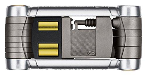 Crankbrothers Premium Pica + 4 clés à rayon + 7 clés BTR + 1 tournevis cruciforme + 2 clés plates + 1 dérive chaine + 2 clés torx Argent
