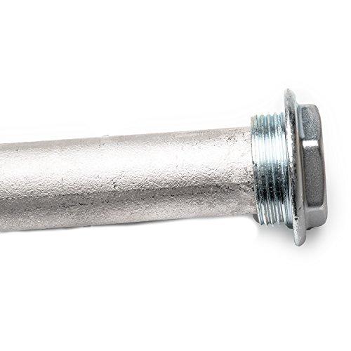 Anode - Schutzanode - Magnesiumanode DN 32 1 1/4 Zoll x 500 mm I 5/4 Zoll - Ersatzanode für Warmwasserspeicher - Anode für Warmwasserboiler -