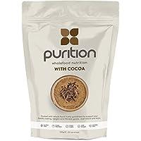 Batido de proteínas de chocolate (500g). Ideal para perder peso & recuperación post-ejercicio – sustituto de comida 100% natural – Batido para el desayuno