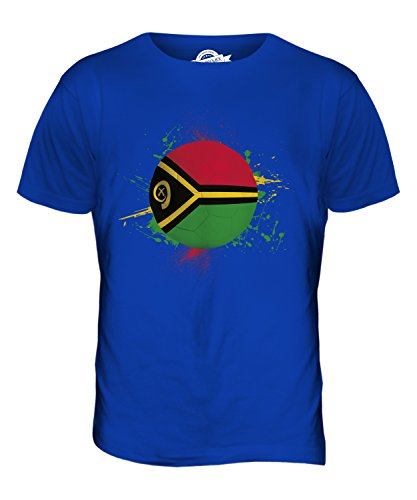 CandyMix Vanuatu Fußball Herren T Shirt Königsblau