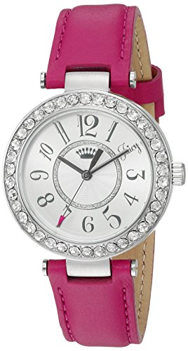 Juicy Couture Women's 1901395 Cali Analog Display Japanese Quartz Pink Watch