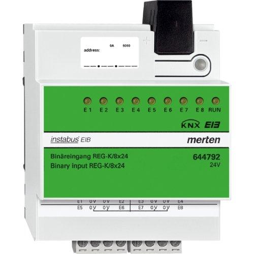 Preisvergleich Produktbild Merten 644792 Binäreingang REG-K/8x24, lichtgrau