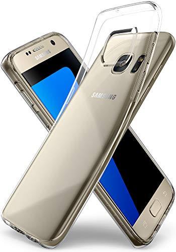 Spigen Coque Samsung S7 [Liquid Crystal] Ultra Mince, Transparente, Légère, Ajustement Parfait [Crystal Clear] Coque Compatible avec Samsung Galaxy S7