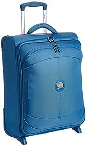 Delsey U-Lite 2 Rollen-Kabinen-Trolley SLIM LINE 55 cm, blau