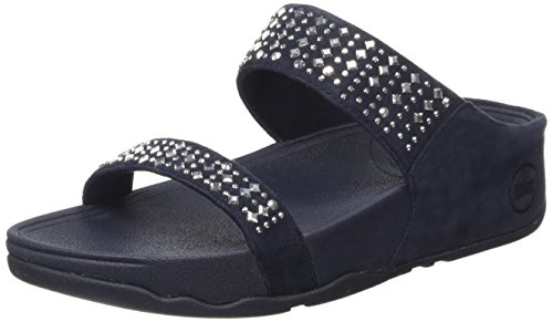 Fitflop Novy Slide, Women's Sandals, Colore Nero (Black 001), Taglia 6 UK (39 EU)