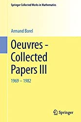 Oeuvres - Collected Papers III (Springer Collected Works in Mathematics)