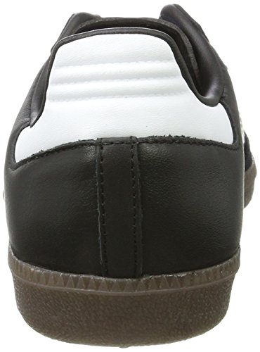 adidas Samba OG, Scarpe da Ginnastica Basse Unisex-Adulto Nero (Core Black/footwear White/gum)