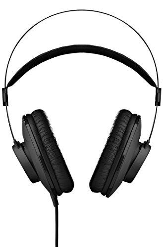 AKG K52 Black Circumaural Head-band headphone - headphones (Circumaural, Head-band, Wired, 18 - 20000 Hz, 2.5 m, Black)