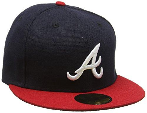 New Era 5950 Tsf Atlanta Braves Hm - Cappello da Uomo, colore Multicolore, taglia 7 1/8
