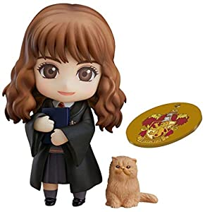 Good Smile Company- Nendoroid Harry Potter Figura PVC Hermione Granger, Multicolor (GSC90690EX)