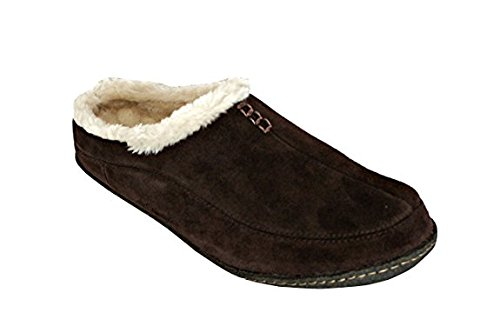 Dunmore Pantofole Collina Columbia Naturale pelliccia Mens Hawk Faux tq5zZA