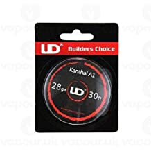 UD Youde wire Bobina di filo Kanthal A1, 10 metri, 28 AWG/0,3 mm