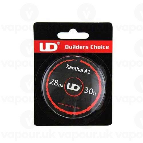 UD Youde Draht, Kanthal A1, 28 AWG / 0,3 mm, 10 m-Spule