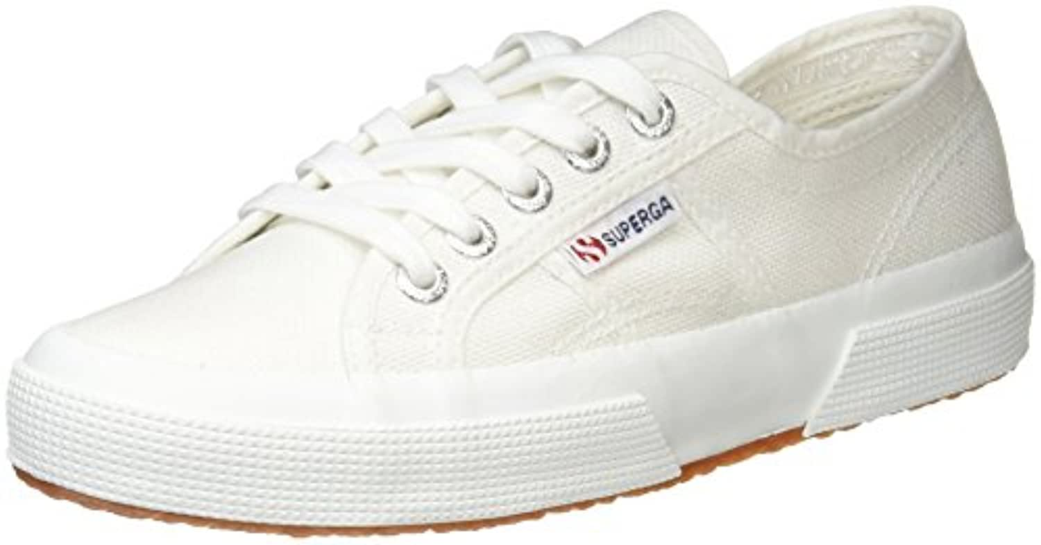 Superga 2750 Cotu Classic, Unisex Adults' Low-Top Sneakers, White, 2.5 UK (35 EU)