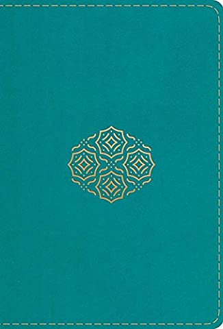 Holy Bible: English Standard Version, TruTone Teal, Bouquet