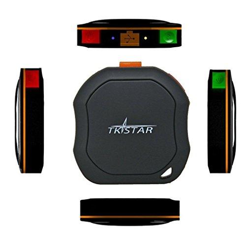 Mini GPS Tracker mit Kostenloser APP für iOS & Android, TKSTAR TQ Wasserdicht GSM AGPS Tracking-System EASY Finder für Kinder, Eltern, Haustiere und Autos etc.