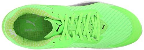 preto Puma Tênis Gecko Têxtil Corrida Verde V2 Pwrcool De Inflamar IvqIrW8