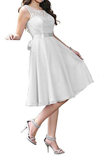 Beyonddress Damen Chiffon Spitze Abendkleider Hochzeit Elegant Partykleider Brautjungfernkleider...