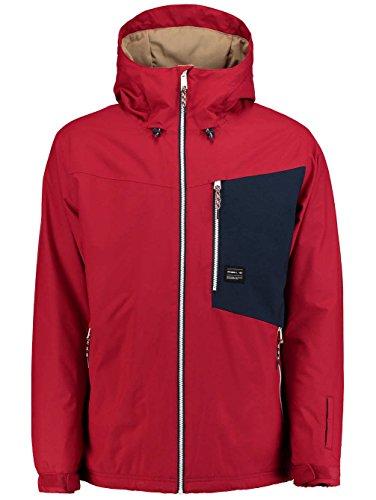 O'Neill Herren PM CUE Jacket Skijacke, Scooter Re, XL - Rot Ski Herren Jacke