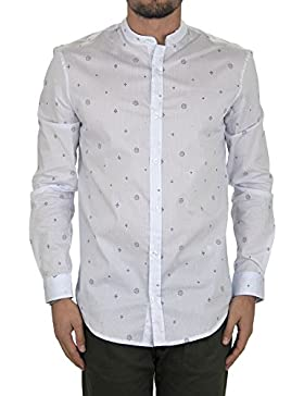 Savile Row Men's Pink White Gingham Classic Fit Shirt - Single Cuff