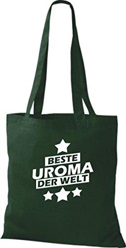 Shirtstown, Borsa tote donna Verde