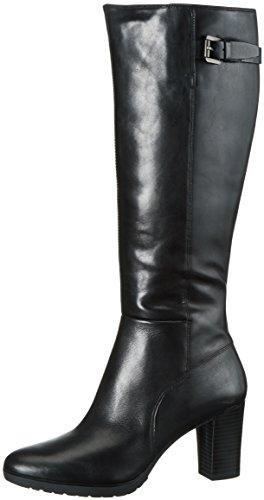 Geox D643WC00043 - Stivali Alti da Donna, colore Nero (BLACKC9999), taglia 38 EU