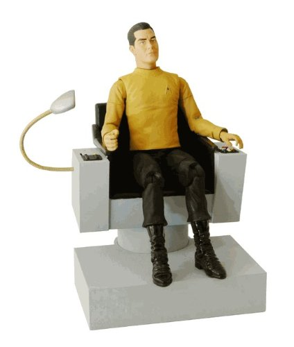 Star Trek - Captain Pike and Command Chair - exclusive