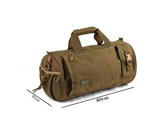 zaino trekking Maschio / Femmina spalla sacchetto esterno / sport zaino Tamburo / sacchetto di alpinismo / multiuso Travel Bag Zaini da escursionismo ( Colore : B ) B