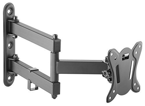 RICOO Monitor Halterung S7311 Schwenkbar Neigbar Wand Monitorhalterung Wandhalterung LCD LED TFT Curved 4K Bildschirmhalterung VESA 75x75 100x100 33-69cm 13