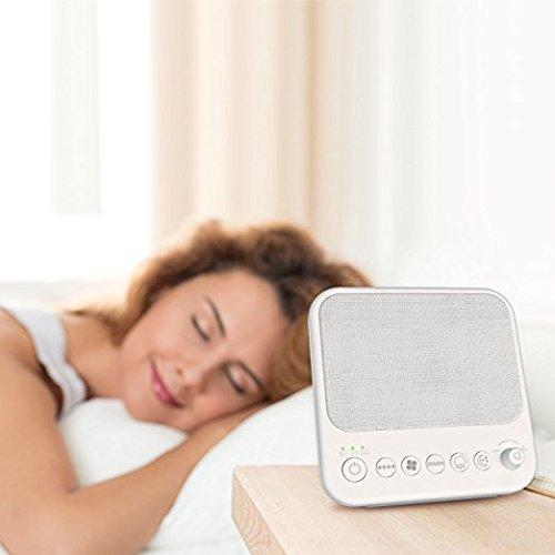 SZTROKIA White Noise Machine, Natural Sound Sleep...