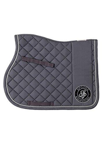 SPOOKS Schabracke Saddle Pad Montegrosso olson grey