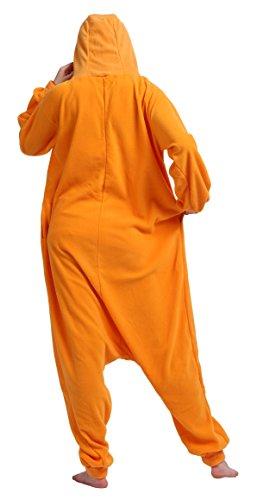Imagen de cuteon unisexo adulto dibujos animados animal kigurumi pijama ropa de dormir encapuchado cosplay disfraz zanahoria l for altura 168 177cm alternativa