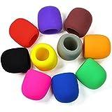 NUOLUX Handheld Bühne Mikrofon Windschutzscheibe Schaum abdecken, 10 Farben