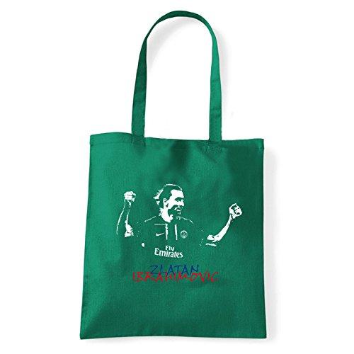 Art T-shirt, Borsa Shoulder Ibra, Shopper, Mare Verde