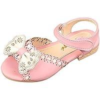 Zapatos para Bebé Infantiles Niñas Ola Bowknot Princesa Sandalias Zapatos Casuales de la Boda ❤️ ️️Lonshell Verano Zapatos
