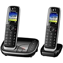 Panasonic KX-TGJ322GB Telefono Fisso, Nero