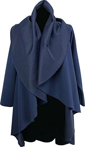 Kentex Online - Poncho - Cape - Femme Bleu - Bleu marine