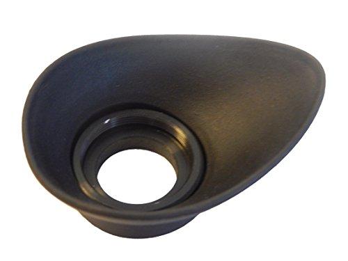 vhbw Okular- Augenmuschel-Sucher 19mm für Kamera Nikon FM3A, FM2, FA, FE2, F3, F3AF, FM, FE, F2, F und Nikkormat.
