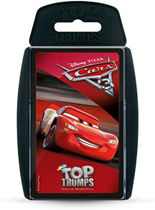 Winning Moves win62790 Top Trumps: Disney Cars Cars Cars 3, Jeu de Cartes | Moderne  2faec2