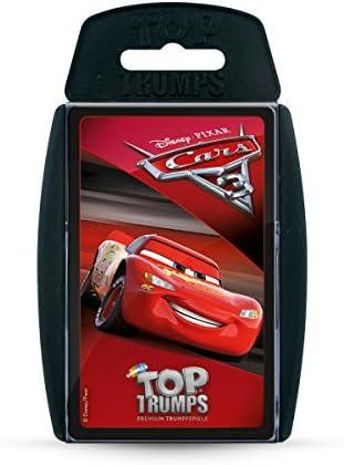 Winning Moves win62790 Top Trumps: Disney Cars Cars Cars 3, Jeu de Cartes | Moderne  779a3c