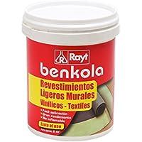 Benkola Adhesivo para revestimientos y papel pintado con dorso de tela sin tejer, 1 kg