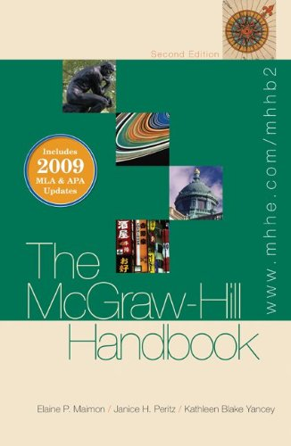 The McGraw-Hill Handbook (hardcover) - 2009 MLA & APA Update, Student Edition