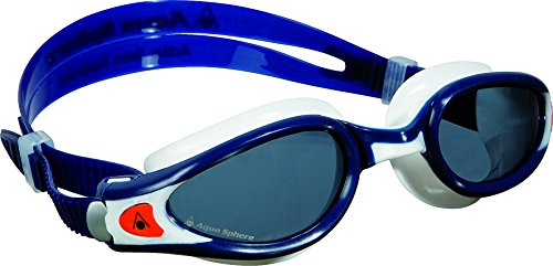 Aqua Sphere Kaiman Exo Regular Fit Tinted - Gafas de natación, color azul